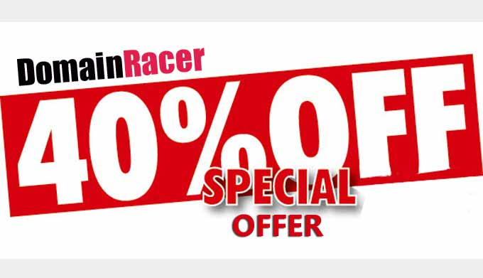 domainracer promo discount coupon